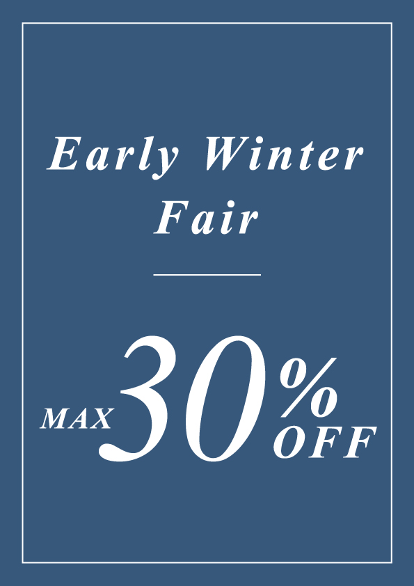 【RANDA】Early winter fair 開催中♪♪